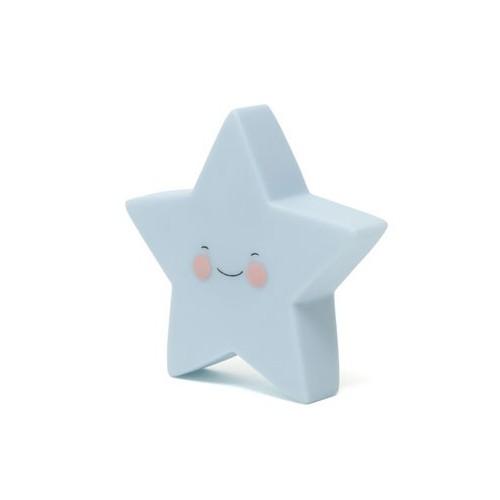 Veilleuse étoile bleu
