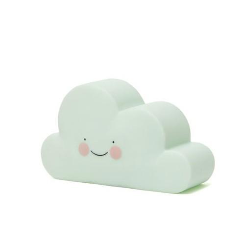 Veilleuse nuage mint