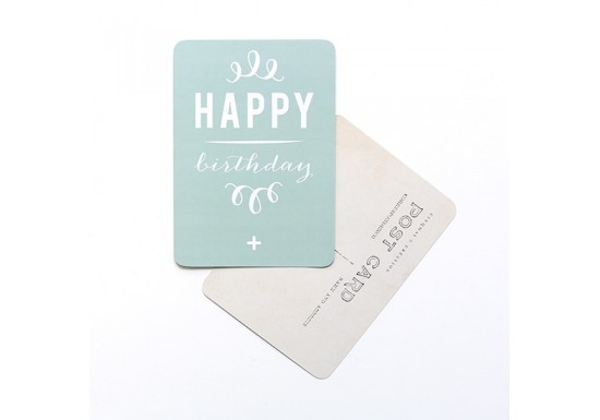 Carte postale Happy Birthday /Anna mint