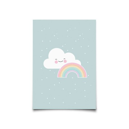 Carte postale Rainbow