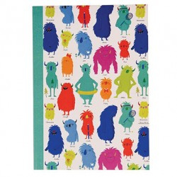 Cahier Monsters of the world