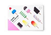 Origami Paper ice lollies - Lot de 6