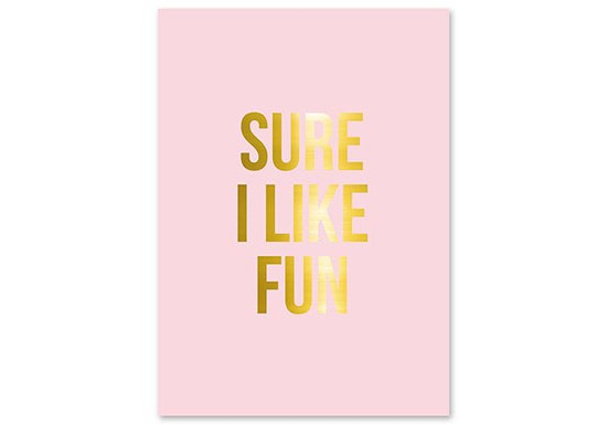 Poster I like fun