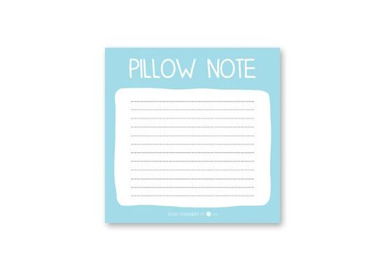 Bloc note Pillow Note