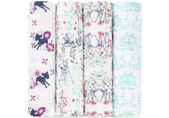 Lange L Pack 4 swaddle Bambi