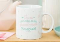 """Mug """"Meilleure grand-mère du monde"""""""