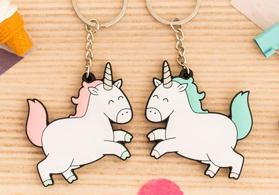 Porte-clés duo Licornes