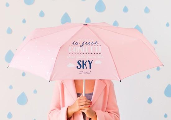 Parapluie rain confetti