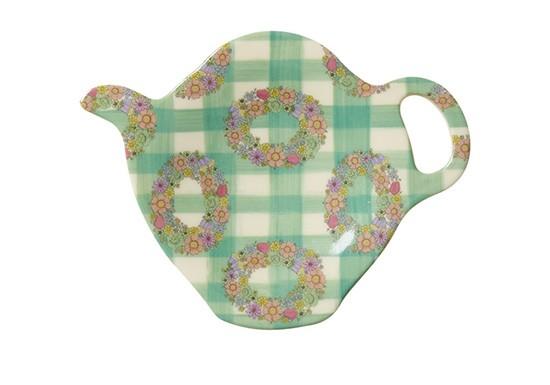 Coupelle à thé Couronne de fleurs