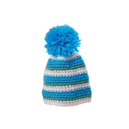 Bonnet pour œuf bleu / vert