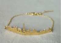 Bracelet Lovebirds doré