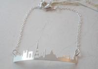 Bracelet Skyline Paris doré