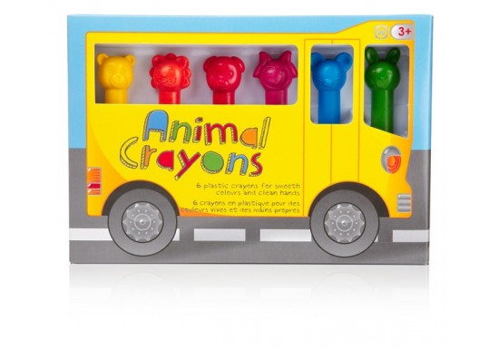 Crayons animaux