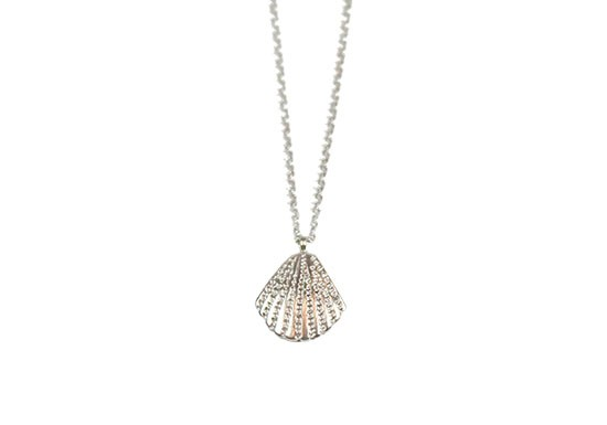 Collier Shell argenté