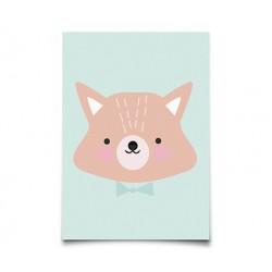 Carte Postale Mr Fox