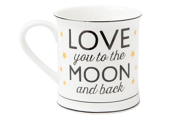 """Mug """"Love you to the moon"""""""