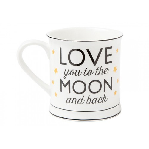 "Mug ""Love you to the moon"""