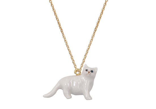 Collier Chat persan