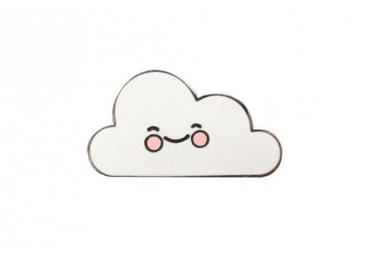 Pins broche nuage