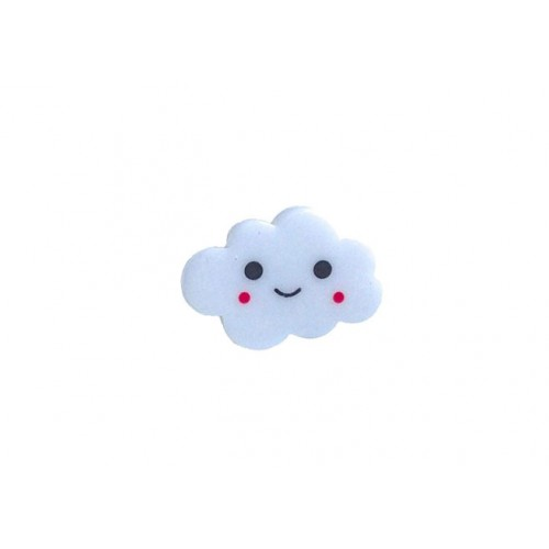 Bague nuage blanc
