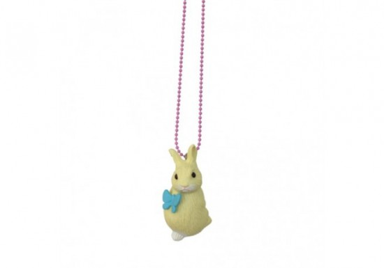 Collier Flower Bunny jaune