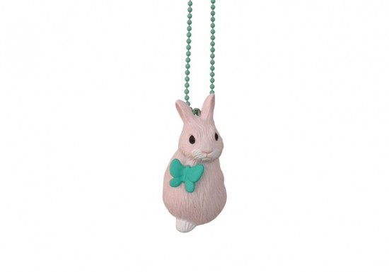 Collier Flower Bunny rose