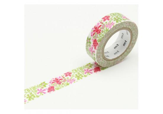 Masking Tape déco - fleur bengt et lotta
