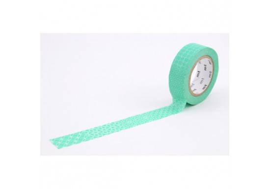 Masking Tape déco - pattern green