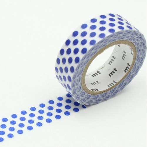 Masking Tape déco - Dot night blue