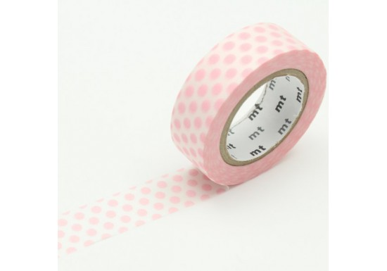 Masking Tape déco - dot-strawberry-milk