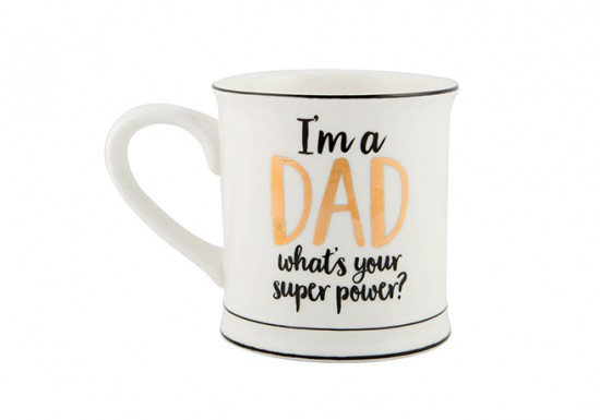 Mug I'm a dad, what's your superpower ?