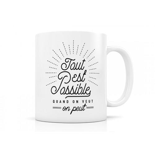 Mug Tout est possible