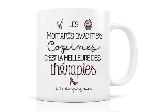 Mug Thérapie copines
