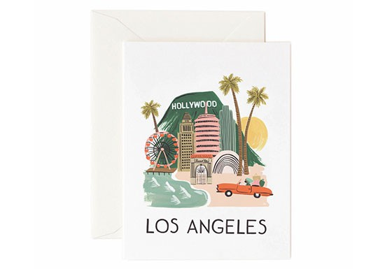 Carte postale Los Angeles