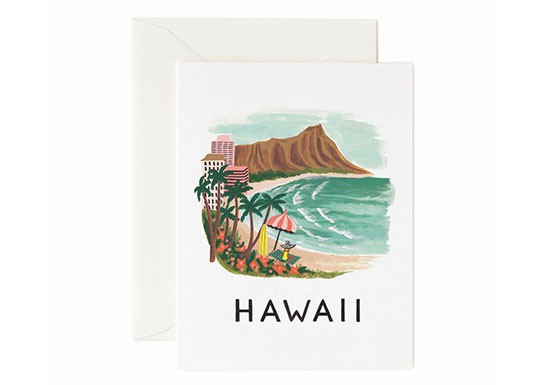 Carte postale Hawaii