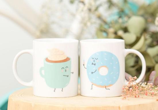 Pack mugs Petit Dej