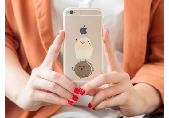 Coque Iphone 6/6S - Muffin et Oréo