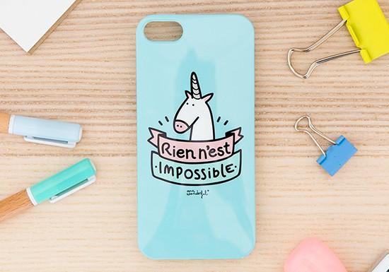 Coque Iphone 5/5S - Rien n'est impossible