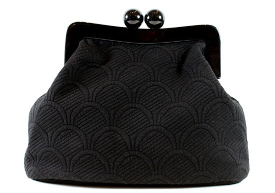 Sac retro Bubble - Noir