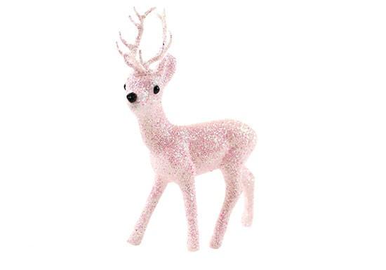 Cerf rose pâle