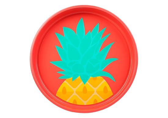 Plateau rond Pineapple