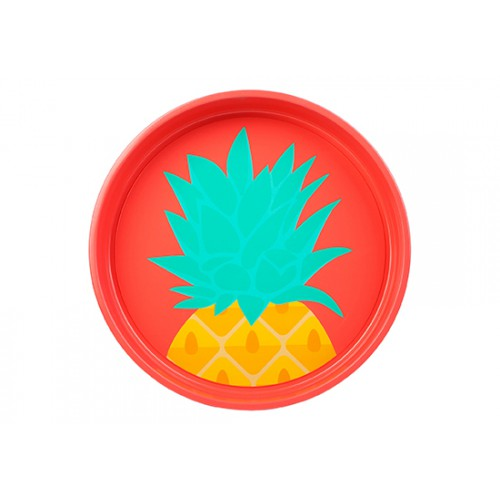 Plateau rond Ananas