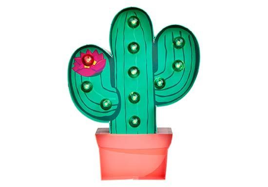 Lampe Led Cactus
