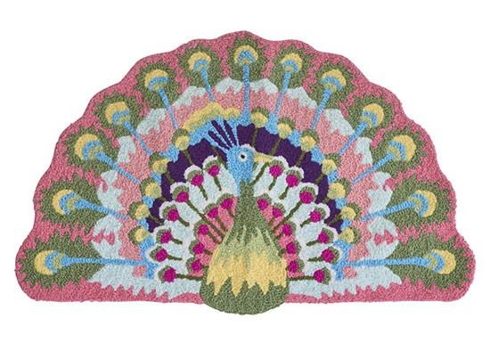 Tapis Peacock
