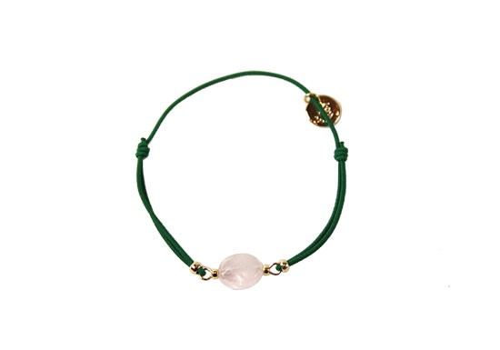 Bracelet Stone quartz rose