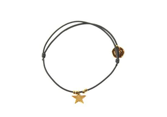 Bracelet Etoile gris