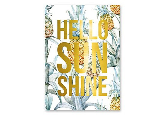 Carte Hello Sunshine