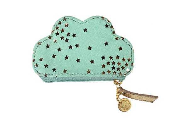 Porte monnaie nuage mint