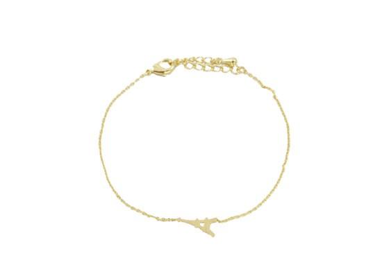 Bracelet Mini Tour Eiffel doré