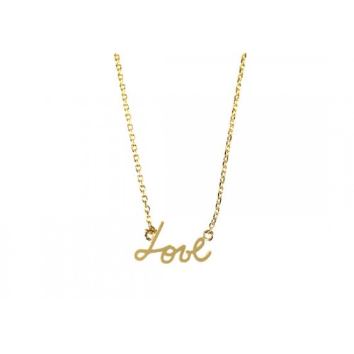Collier Love doré